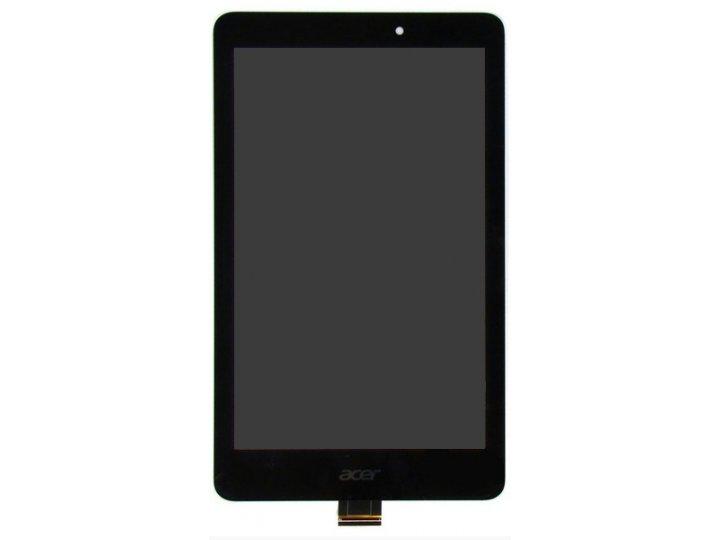 Фирменный LCD-ЖК-сенсорный дисплей-экран-стекло с тачскрином на планшет Acer Iconia Tab 8 A1-840/A1-841 FHD че..