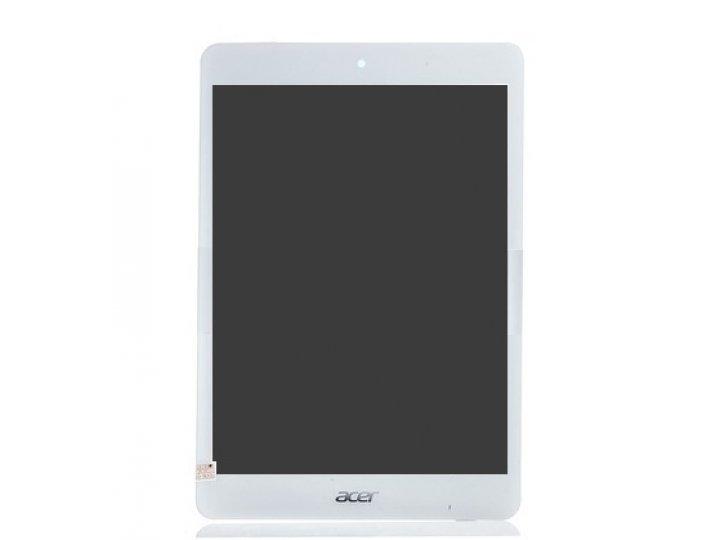 Фирменный LCD-ЖК-сенсорный дисплей-экран-стекло с тачскрином на планшет Acer Iconia Tab A1-830/A1-831 белый и ..