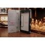Фирменный чехол обложка для Acer Iconia Tab One B1-730/B7-731HD с визитницей и держателем для руки черный нату..