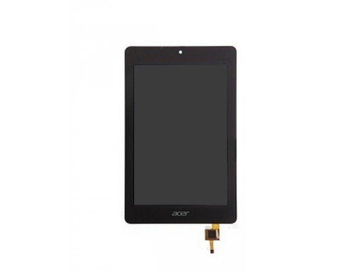 Фирменный LCD-ЖК-сенсорный дисплей-экран-стекло с тачскрином на планшет Acer Iconia Tab B1-730/B7-731HD черный..