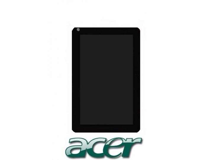 Фирменный LCD-ЖК-сенсорный дисплей-экран-стекло с тачскрином на планшет Acer Iconia Tab B1-720/B1-721 черный и..