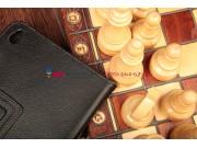 Чехол-обложка для Lenovo ThinkPad Tablet 2 черный кожаный..