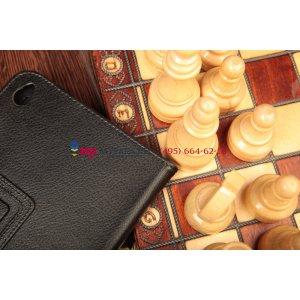 Чехол-обложка для Lenovo ThinkPad Tablet 2 черный кожаный
