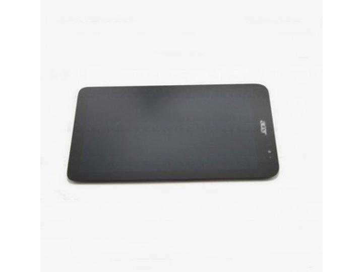 Фирменный LCD-ЖК-сенсорный дисплей-экран-стекло с тачскрином на планшет Acer Iconia Tab W4-820/W4-821 черный и..