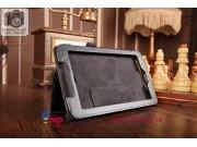 Чехол-обложка для Acer Tab 7 A1-713/A1-713HD черный кожаный..