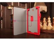 Фирменный чехол для Acer Tab 7 A1-713/A1-713HD с мягкой противоударной подкладкой красный