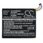 Фирменная аккумуляторная батарея  4900 mah CS-ACW850SL на планшет Acer Iconia One 8 B1-810/B1-811 + инструмент..