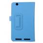 Чехол для Acer Iconia Tab B1-750/B1-751 голубой кожаный..