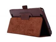 Чехол для Acer Iconia Tab B1-750/B1-751 коричневый кожаный..