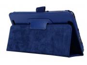 Чехол для Acer Iconia Tab B1-750/B1-751 синий кожаный..