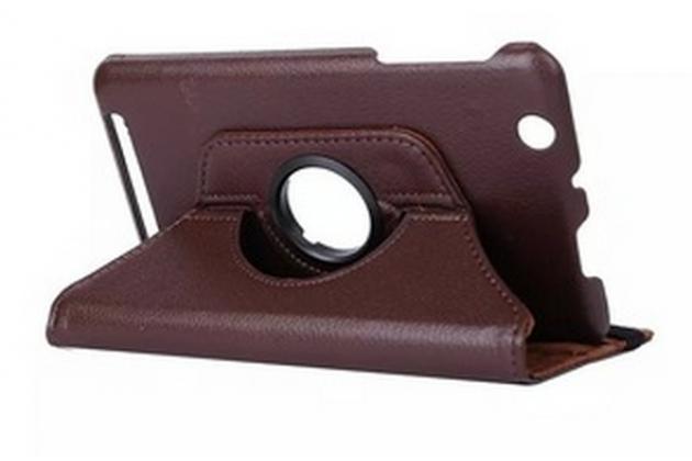 Чехол для планшета Acer Iconia Tab B1-750/B1-751 поворотный роторный оборотный коричневый кожаный