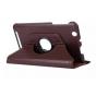 Чехол для планшета Acer Iconia Tab B1-750/B1-751 поворотный роторный оборотный коричневый кожаный..