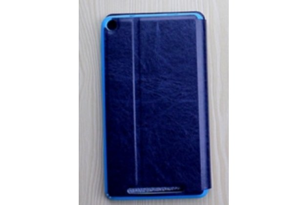 """Фирменный умный тонкий легкий чехол для Acer Iconia One 7 Hd B1-760HD (K057 / NT.LB1EE.004) """"Il Sottile"""" синий пластиковый"""