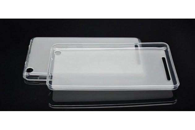 Фирменная ультра-тонкая полимерная из мягкого качественного силикона задняя панель-чехол-накладка для планшета Acer Iconia One 7 Hd B1-760HD (K057 / NT.LB1EE.004) белая