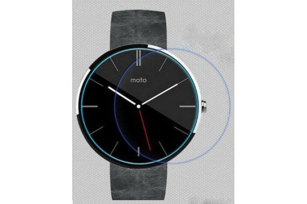 Фирменная оригинальная защитная пленка для умных смарт-часов Alcatel OneTouch Watch глянцевая