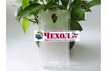 Фирменная ультра-тонкая полимерная из мягкого качественного силикона задняя панель-чехол-накладка для Alcatel Pixi 4 (5) 5045D белая