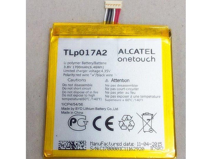 Фирменная аккумуляторная батарея TLP017A1 2000mAh на телефон Alcatel One touch IDOL MINI 6012X / 6012D  + инст..
