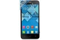 Фирменная оригинальная защитная пленка для телефона Alcatel One Touch IDOL MINI 6012D/X глянцевая