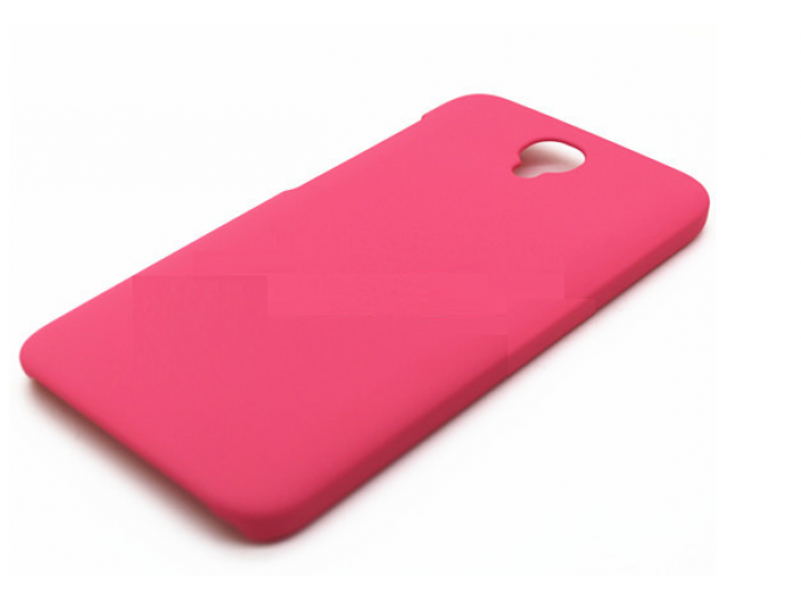 Фирменная задняя панель-крышка-накладка из тончайшего и прочного пластика для Alcatel One Touch Idol 2 OT 6037..