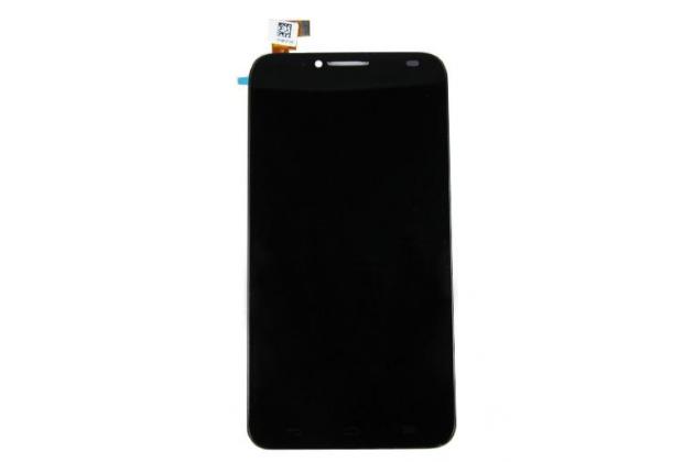 Фирменный LCD-ЖК-сенсорный дисплей-экран-стекло с тачскрином на телефон Alcatel One Touch Idol 2 OT 6037Y/K/B черный + гарантия