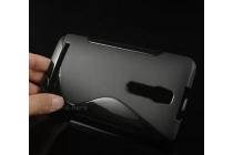 Фирменная ультра-тонкая полимерная из мягкого качественного силикона задняя панель-чехол-накладка для Alcatel Idol 2 Mini 6016A/D/X черная