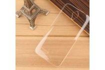 Фирменная задняя панель-крышка-накладка из тончайшего и прочного пластика для Alcatel Idol 2 Mini 6016A/D/X прозрачная