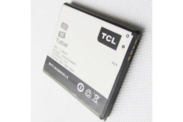 Фирменная аккумуляторная батарея TliB5AF 2100mAh на телефон Alcatel OneTouch 997D / OT-997 + гарантия