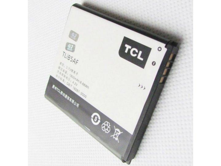 Фирменная аккумуляторная батарея TliB5AF 2100mAh на телефон Alcatel OneTouch 997D / OT-997 + гарантия..