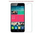 Фирменная оригинальная защитная пленка для телефона Alcatel One Touch Idol X 6040X/6040D глянцевая..