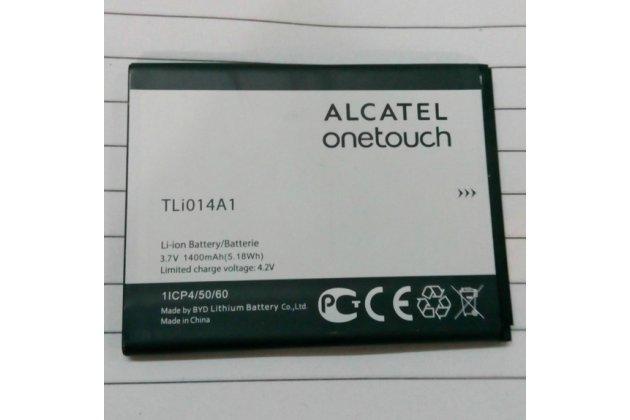 Фирменная аккумуляторная батарея 1400mAh на телефон Alcatel OneTouch M'Pop 5020D / Fire 4012 / 4012A + гарантия