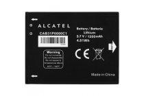 Фирменная аккумуляторная батарея 1300mAh на телефон Alcatel OneTouch OT-918/918S/918N/990M  + гарантия