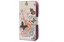 """Фирменный уникальный необычный чехол-книжка для Alcatel OneTouch Pop C5 5036D/X """"тематика цветок Сакуры"""""""