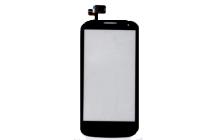 Фирменный LCD-ЖК-сенсорный дисплей-экран-стекло с тачскрином на телефон Alcatel OneTouch Pop C5 5036D/X черный + гарантия