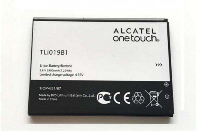 Фирменная аккумуляторная батарея 1900mAh TLi019B1 на телефон Alcatel One Touch POP C7 7040D/7041D + гарантия
