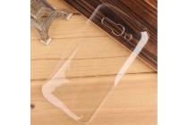 Фирменная задняя панель-крышка-накладка из тончайшего и прочного пластика для Alcatel POP C9 7047D прозрачная