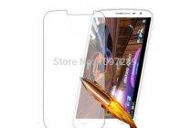 Фирменное защитное закалённое противоударное стекло премиум-класса из качественного японского материала с олеофобным покрытием для Alcatel One Touch Pop D5 5038E / 5038D