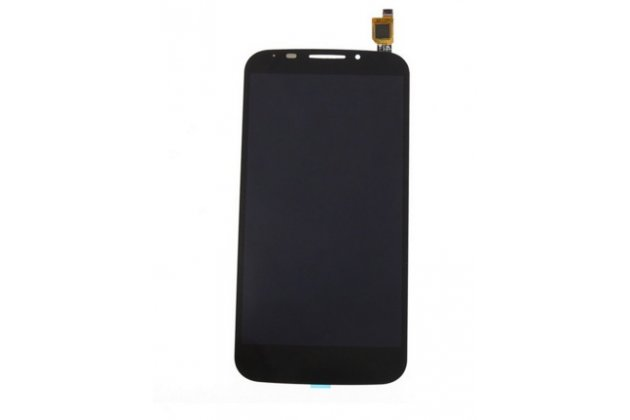 Фирменный LCD-ЖК-сенсорный дисплей-экран-стекло с тачскрином на телефон Alcatel Pop S7 7045Y черный + гарантия
