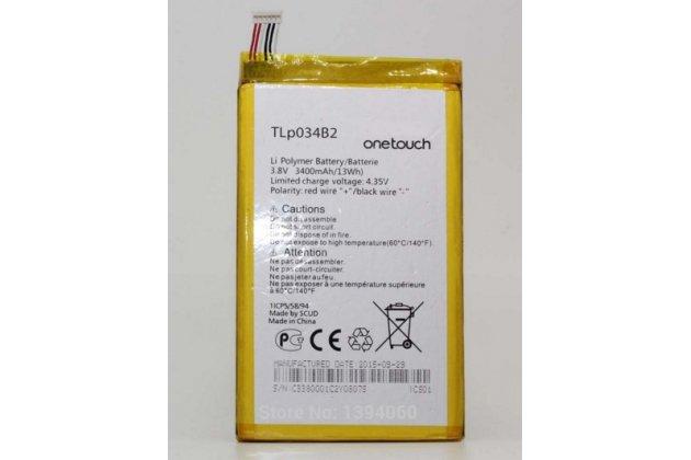 Фирменная аккумуляторная батарея 3400 mAh на телефон Alcatel Pop S9 7050Y+инструменты для вскрытия+ гарантия