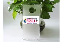 """Фирменная ультра-тонкая силиконовая задняя панель-чехол-накладка для Alcatel One Touch Idol 4S 6070K  5.5"""" белая"""