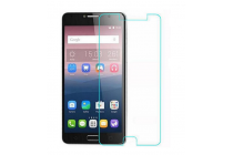 """Фирменное защитное закалённое противоударное стекло премиум-класса из качественного японского материала с олеофобным покрытием для телефона Alcatel One Touch Idol 4S 6070K  5.5"""""""