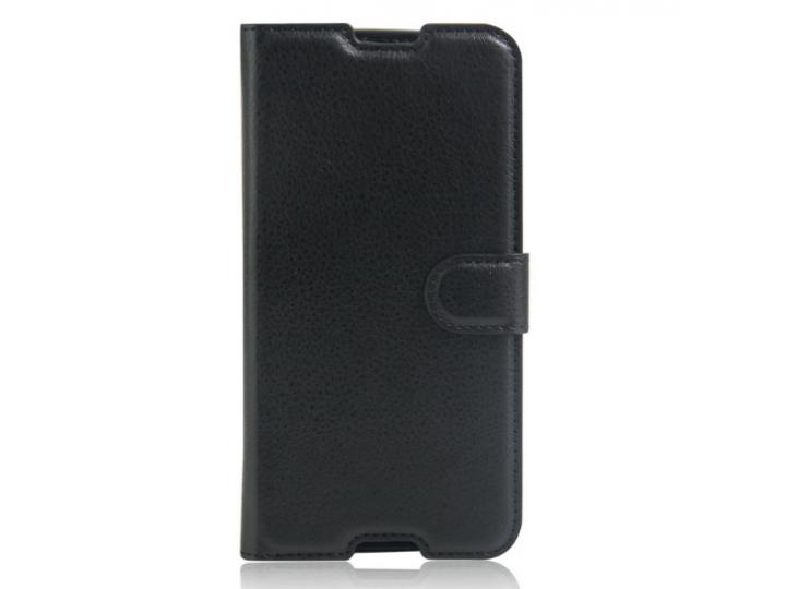 Фирменный чехол-книжка для Alcatel One Touch Idol 4S 6070K  5.5