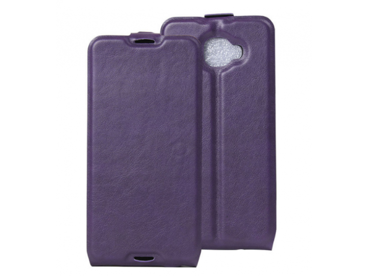 Фирменный оригинальный вертикальный откидной чехол-флип для Alcatel One Touch Idol 4S 6070K  5.5