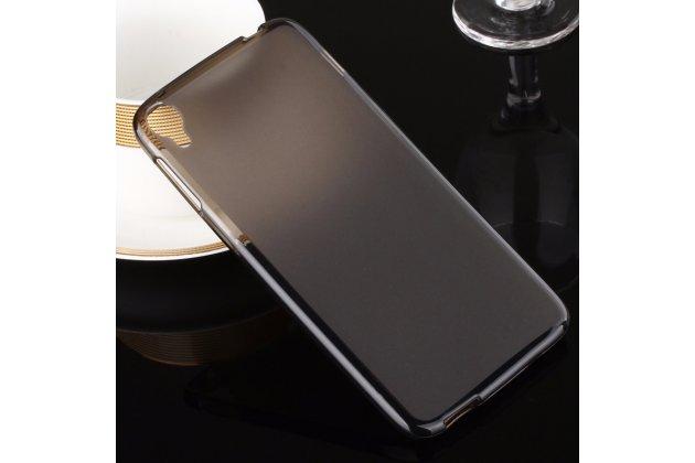 Фирменная ультра-тонкая силиконовая задняя панель-чехол-накладка для Alcatel One Touch Idol 3 (4.7) / 3 (4.7) Dual Sim 6039Y/K черная