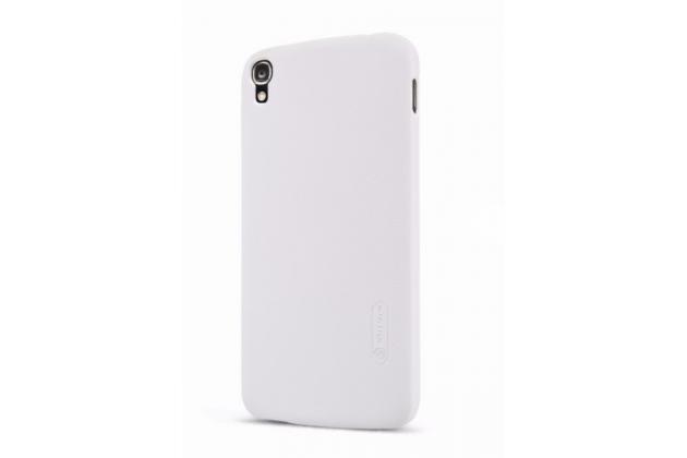 Фирменная ультра-тонкая пластиковая задняя панель-чехол-накладка для  Alcatel One Touch Idol 3 (5.5) / 3 (5.5) Dual Sim 6045Y/K белая