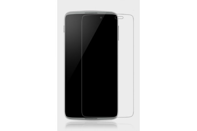 Фирменная оригинальная защитная пленка для телефона Alcatel One Touch Idol 3 (5.5) / 3 (5.5) Dual Sim 6045Y/K глянцевая