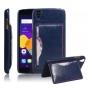 Фирменная роскошная элитная премиальная задняя панель-крышка для Alcatel One Touch Idol 3 (5.5) / 3 (5.5) Dual..