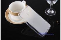 Фирменная ультра-тонкая полимерная из мягкого качественного силикона задняя панель-чехол-накладка для Alcatel One Touch POP (Pixi) 3 5015X белая