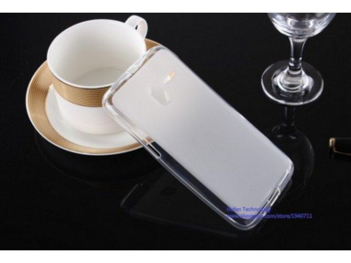 Фирменная ультра-тонкая полимерная из мягкого качественного силикона задняя панель-чехол-накладка для Alcatel ..