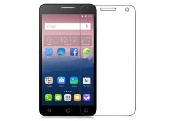 "Фирменная оригинальная защитная пленка для телефона Alcatel One Touch POP 3 5025D 5.5"" глянцевая"