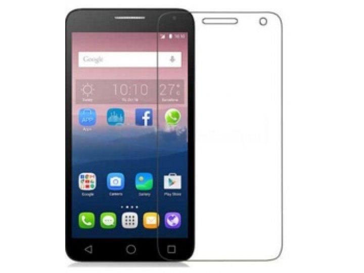 Фирменная оригинальная защитная пленка для телефона Alcatel One Touch POP 3 5025D 5.5